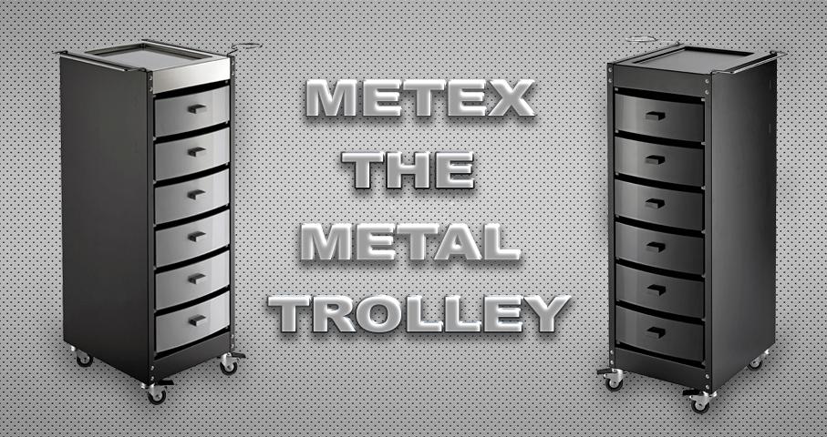 Metex Nuovo Carrello In Metallo