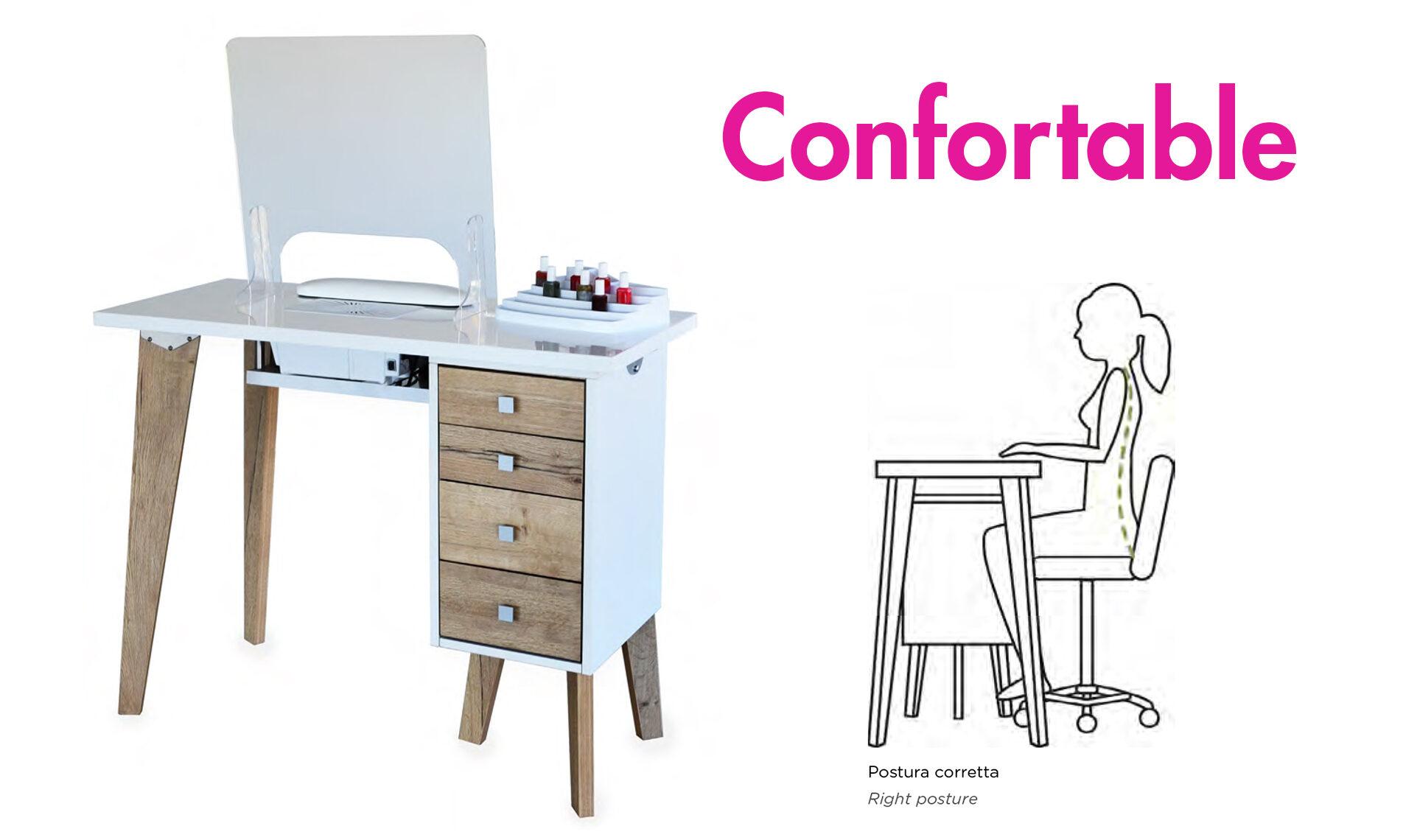 Confortable Table Manicure